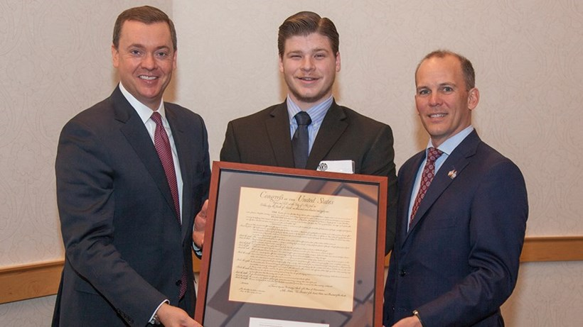NRA Honors Liberty University Student