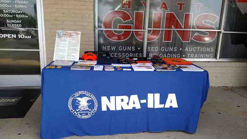 Hyatt Guns - America's Largest Gun Shop, Hosts an NRA Day