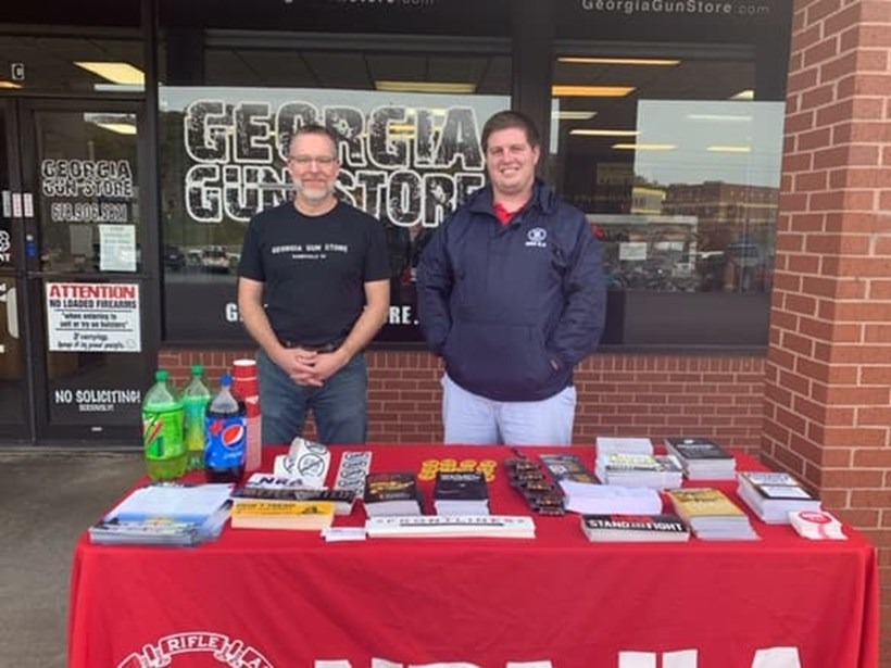 NRA Day at Georgia Gun Store