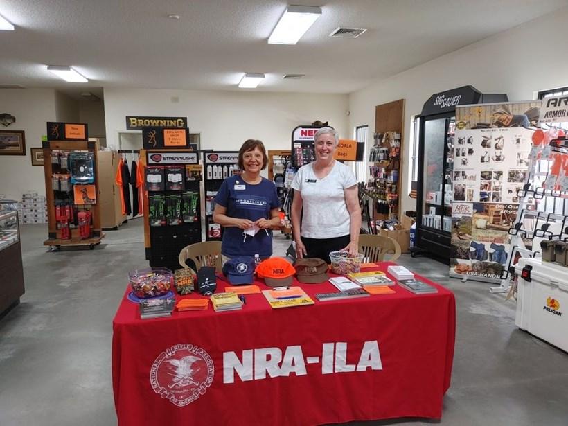 NRA Day at Ed's Gun Shop